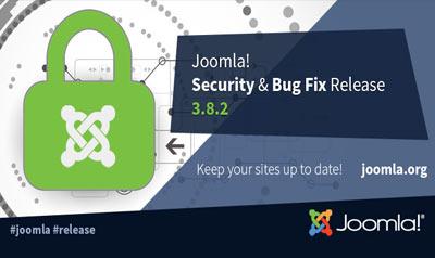 Joomla 3.8.2 Stable