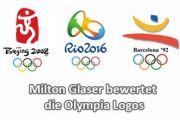 Milton Glaser bewertet Olympia Logos