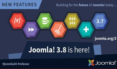 Joomla! 3.8 Release