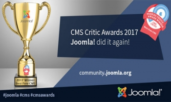 joomla Critical Award 2017